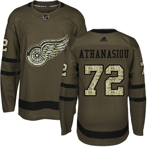 Delivery time is about 12 weeks Men's Adidas Detroit Red Wings #72 ...